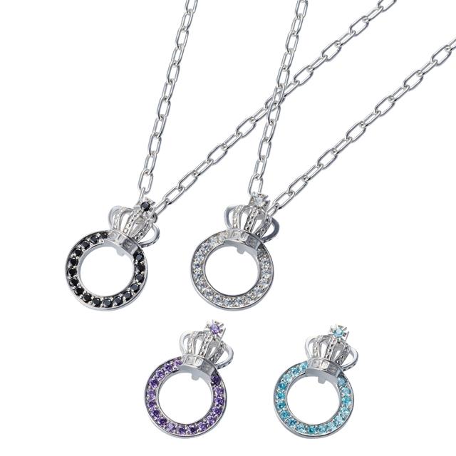 【DUB Collection│ダブコレクション】Crown ring Necklace クラウンリングネックレス DUBj,296,2【ユニセックス】